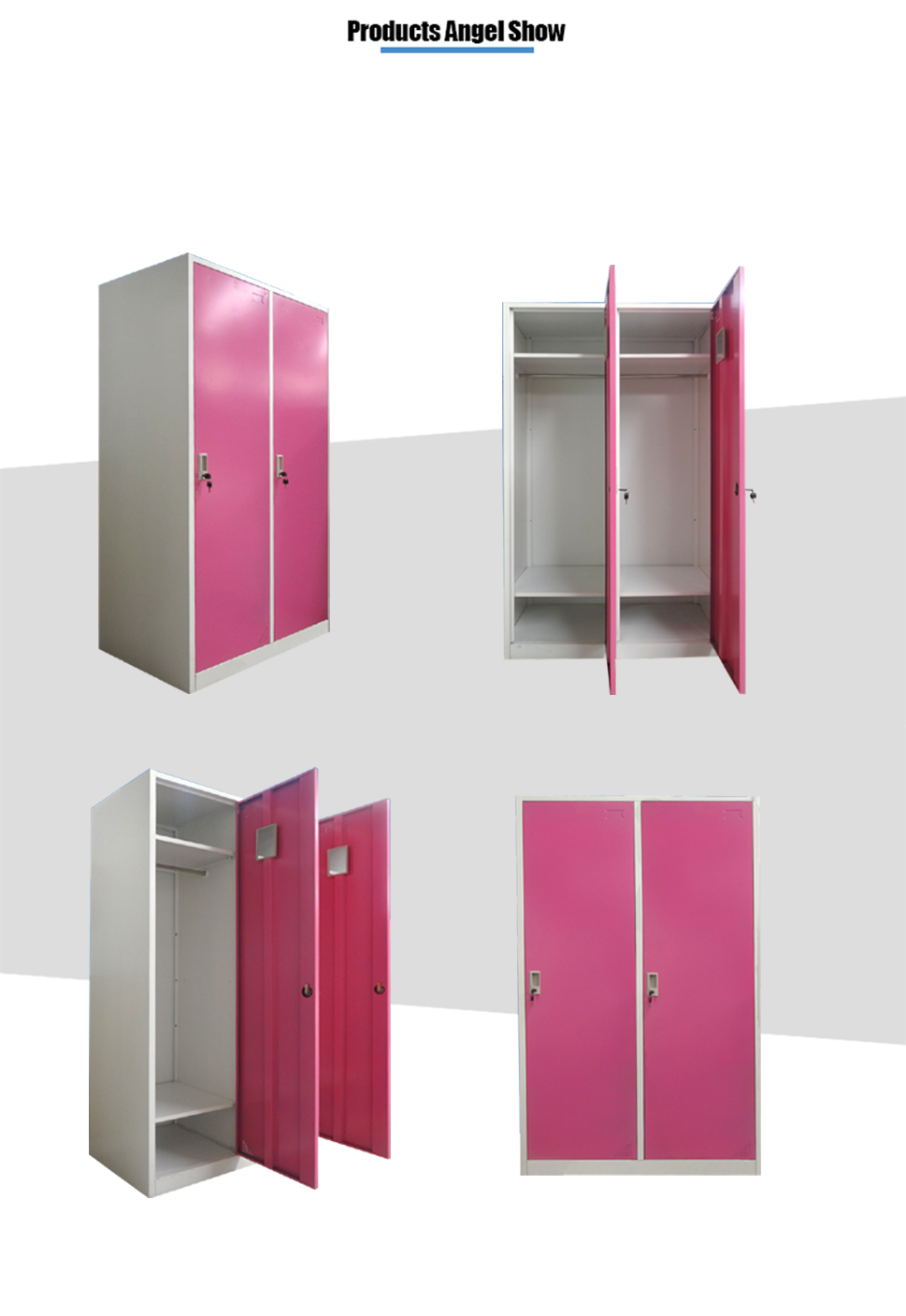 steel clothing cupboard locker