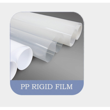 Plastic Sheet PP Rigid Film Plastic Film Roll Packaging