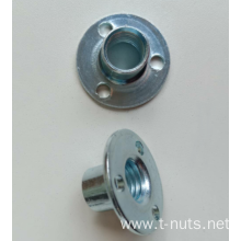 Stamping Three holes Furniture carbon steel Tee nuts