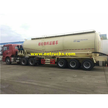 Tri-axle 45000L Dry Powder Tank Trailers