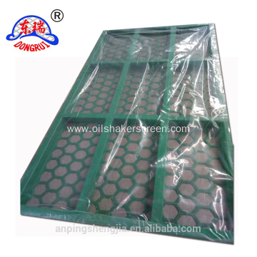 kemtron steel frame shaker screen in high quality