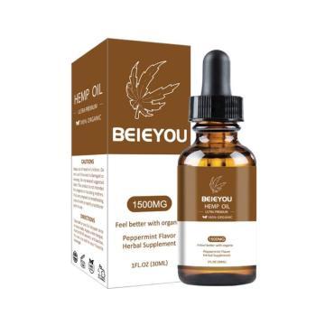 Essential Oils 10000mg Hemp CBD Organic Essential Oil Hemp Seed Oil Herbal Drops Body Relieve Stress Skin Care Help Sleep 30ml