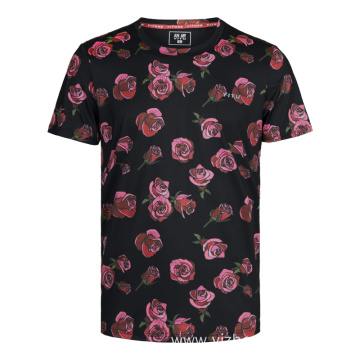 Moisture Wicking Dry Fit T Shirt Rose