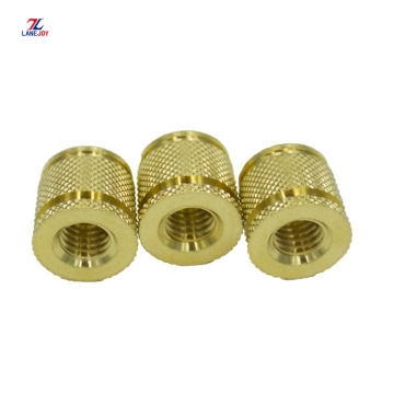 M2 M6 M10 brass knurled threaded insert nuts
