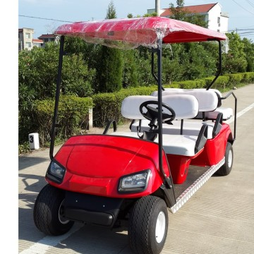 4+2 electric golf cart for sale