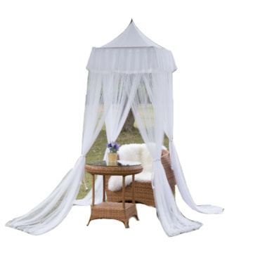 Elegant Four Corner Mosquito Nets Square Bed Canopy