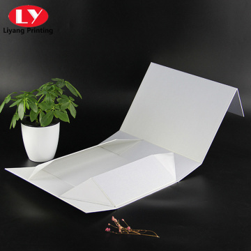 Wholesale Retail Printed Magnetic Gift White Paper Box