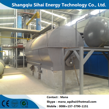 Used lube oil refining base oil distillation equipment