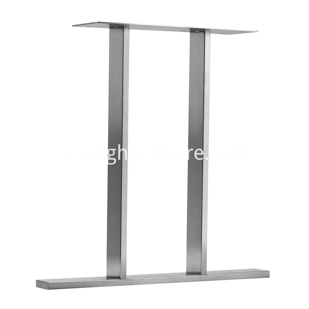 Stainless Steel Dinning Table Legs For Wood