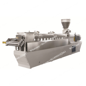 Twin Screw Plastic Sheet Extruder