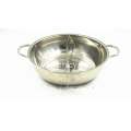 Stainless Steel Soup Pot And Two Flavor Pot