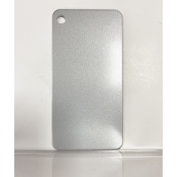 Aluminium Panel Sheet Metallic silver