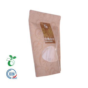 Biodegradable Compostable Paper Coffee Bags with Window