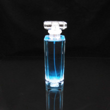 100ml rectangular transparent glass perfume bottle