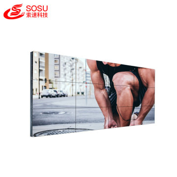 2019 new narrow bezel lcd video wall