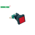 Game Push Button Switch Squre Red