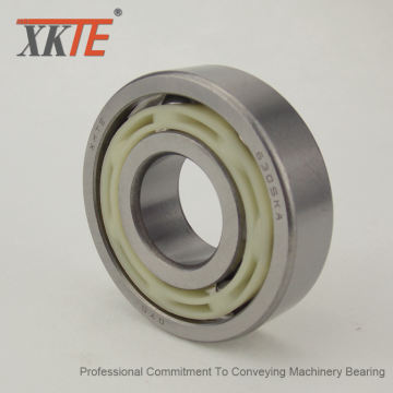 Nylon 6/6 Cage Bearing For Mining Conveyor Idler Roller