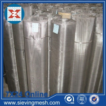 Plain Steel Wire Mesh Screen
