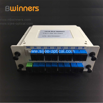 1x16 Fiber Optic Splitter With SC/APC Connector