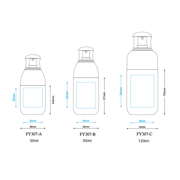 PETG plastic spray empty cosmetic bottle (6)
