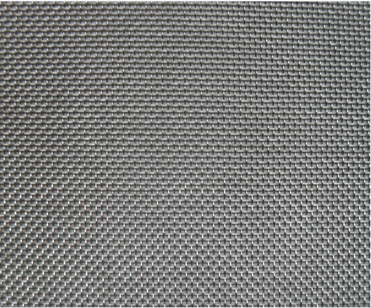 Sintered Fiber Material with Mesh Support