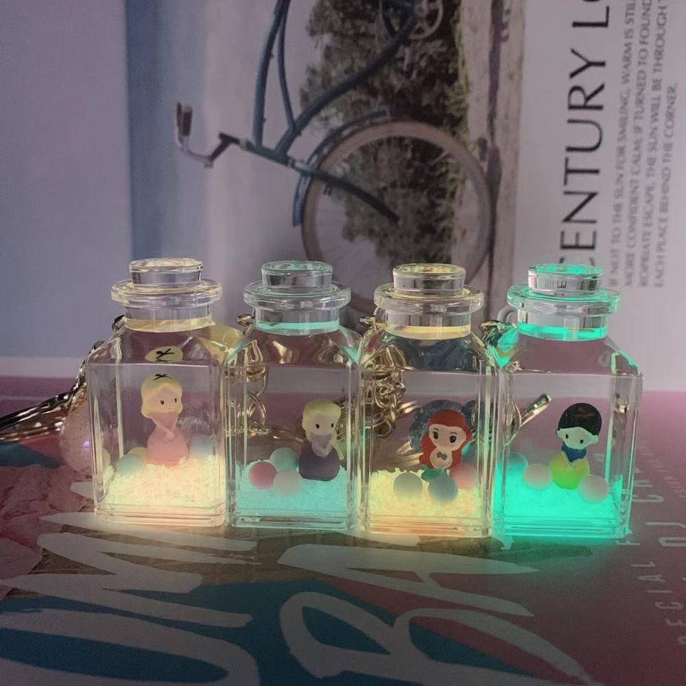 Light Liquid Keychain