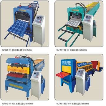 IBR profiles double layer roofing forming machine