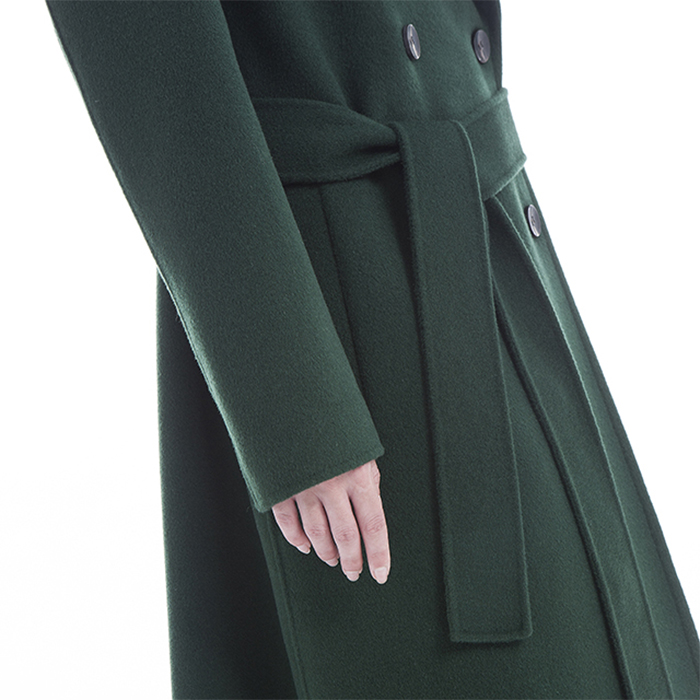 The Bottom of New Green Cashmere Winter Clothes