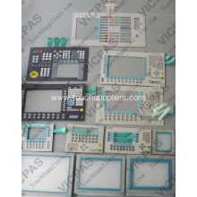 AWS-8129H1-RBE Membrane keyboard for Advantech