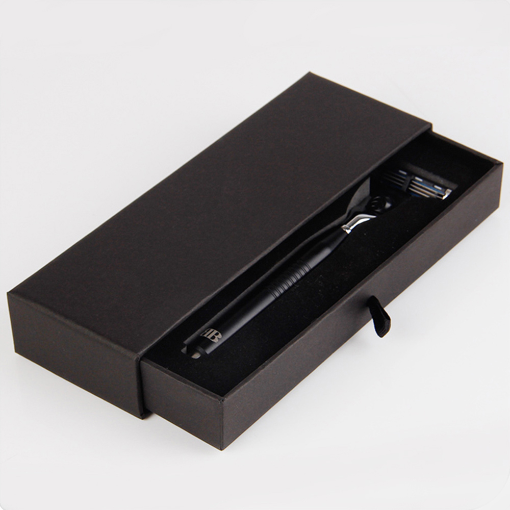 Pull Out Drawer Shaver Cardboard Packaging Box