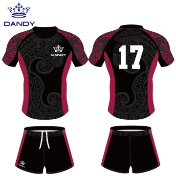 Custom team sublimated rugby uniforms