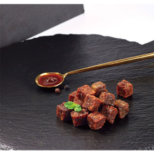Available satay meat granules