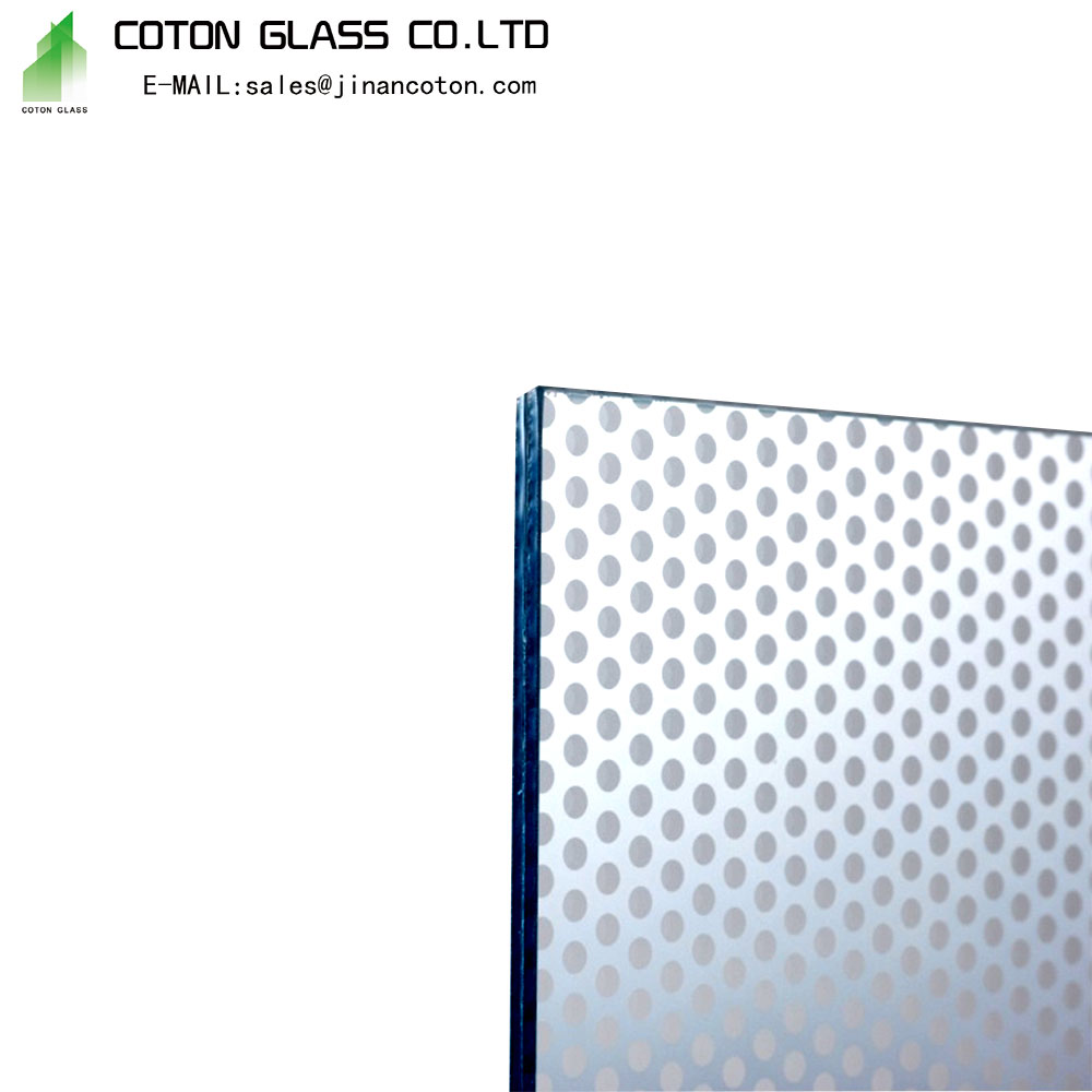 Silk Screen Tempered Glass