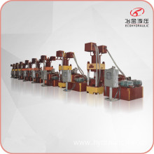 Vertical Iron Metal Chips Block Briquette Making Machine