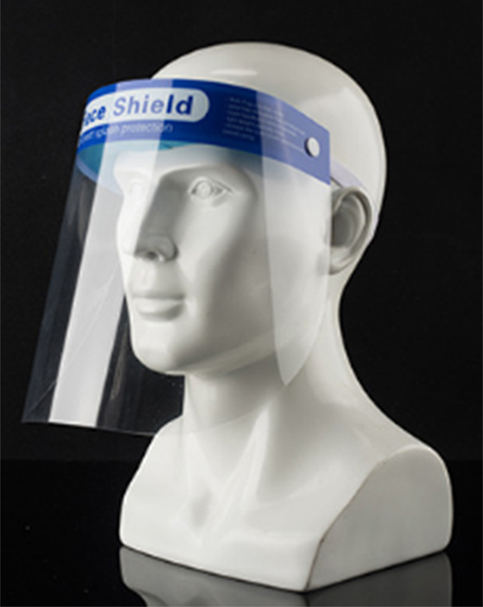 Medical splash-proof isolation mask used in hospital