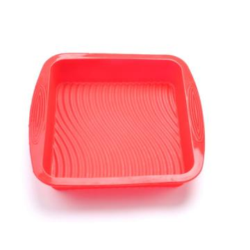 Home Kitchenware Silicone Material Soft Cake Tray