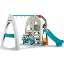 Outdoor Slide Combination Playground Swing Set
