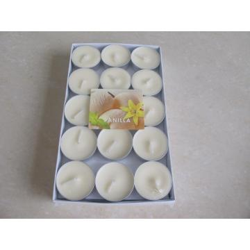 White Unscented SoyTealight Candle