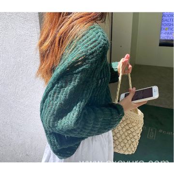 2020 gentle wind loose all-match knit sweater