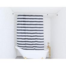 Shower Curtain Polyester Stripe
