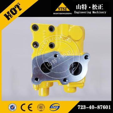 Excavator PC240-8 oil return valve 723-40-87601