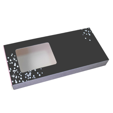Wholesale Private Label Eyelash Black Matte Box