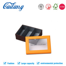 Customized Lid and Base Paper Box with Window