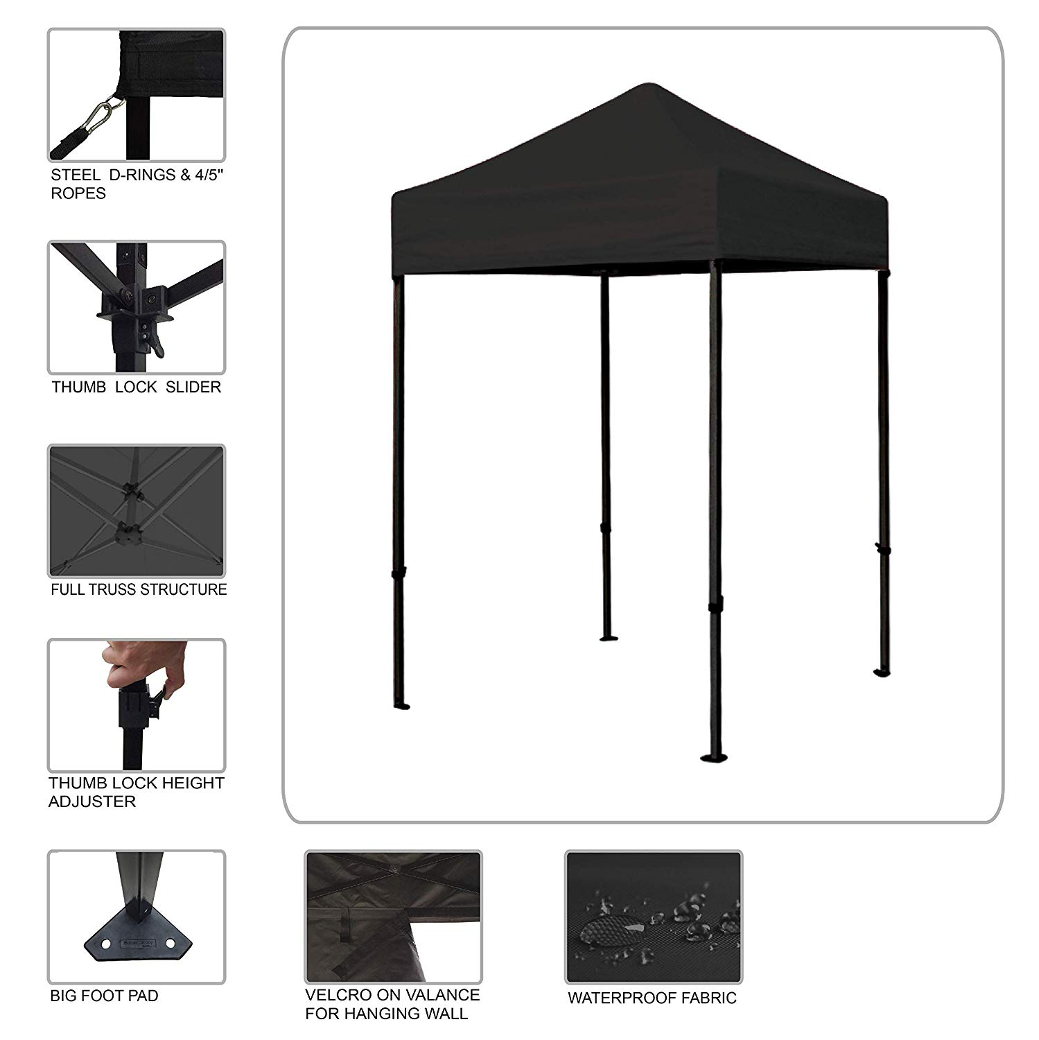 Outdoor Waterproof Gazebo Tent