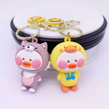 Cute Girls Keychain Customized