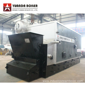 Biomass Fired Double Drums Steam Boiler for Textile