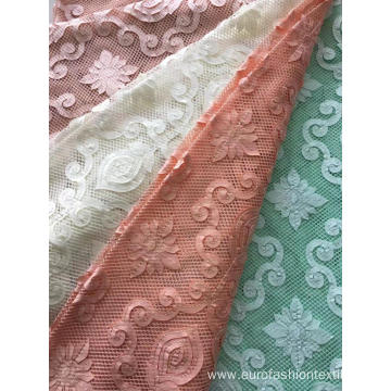 Fancy Laser Embroidery Fabric for Ladies Garment