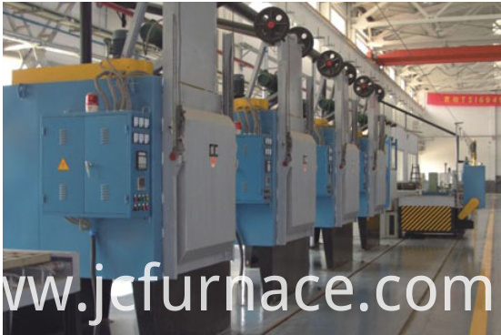 All-fiber chamber quenching furnace show