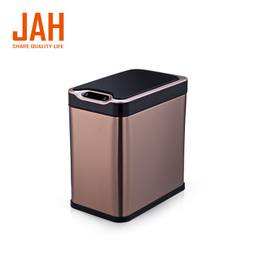 JAH Small Rectangle Automatic Sensor Trash Can Dustbin