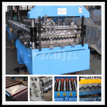 corrugated color coated metal roof panel making machine